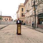 """""""Estas calles por primera vez han visto la luz, ahora viene la parte más difícil, revivirlas"""", alcalde @nayibbukele https://t.co/Me7srGMXCx"""