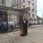 El alcalde Nayib Bukele informa de la recuperación de 20 cuadras del #CentroHistórico https://t.co/lYC1uyPtdd