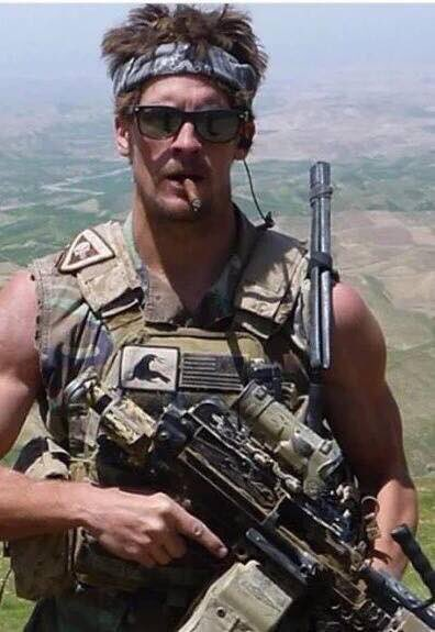 In case u r confused, this is what a REAL American hero looks like...RIP SEAL Charles Keating IV...KIA 3 May 2016