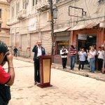 Alcalde @nayibbukele anuncia avances sobre el reordenamiento del #CHSS desde la Calle Delgado. https://t.co/gW87Qp2VSM