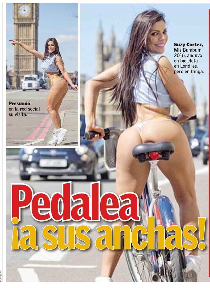 RT @elsolregio: LOS PARALIZA Suzy Cortez, Miss Bumbub, frena tráfico de Londres al treparse en la rila y enseñar sus encantos. https://t.co…