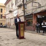 """Ya se recuperaron 20 cuadras de del corazón del #CHSS"", alcalde @nayibbukele https://t.co/Vwk3Gw0QMY"