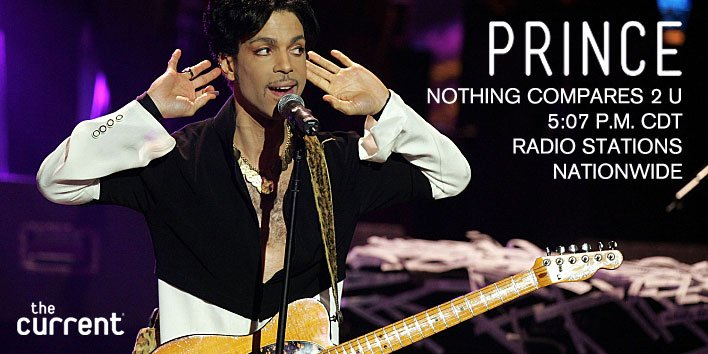 Celebrate Prince's life & music; listen to #NothingCompares2U today at 5:07 p.m. CDT. https://t.co/dt3CGqMZmL https://t.co/4kpKuU0E7E