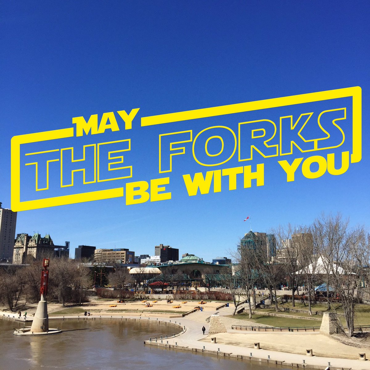 Today might be one of our favourite days #MayThe4thBeWithYou https://t.co/T6BCpeVsiS