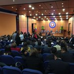 En momentos desde @Ustatunja inicia la posesión oficial del Dr.Jorge Eduardo Londoño como nuevo Ministro de Justicia https://t.co/pqwdb2xJfL