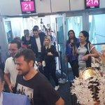 Llega primer vuelo de @TurkishAirlines que inauguró su nueva ruta Estambul-Panamá. Vía @YohanyGuevara https://t.co/jymWkQiSIO