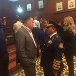 #MSPS Reconocemos la destacada trayectoria del General Alfonso Medina y Coronel Danilo Flores @BomberosHn https://t.co/ULy7ylfg2z
