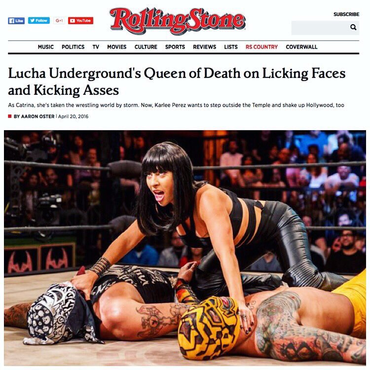 New Episode of @LuchaElRey ...who is ready for the best show on TV? @Rodriguez #boss #catrina #lickofdeath https://t.co/m1mRcL38YW