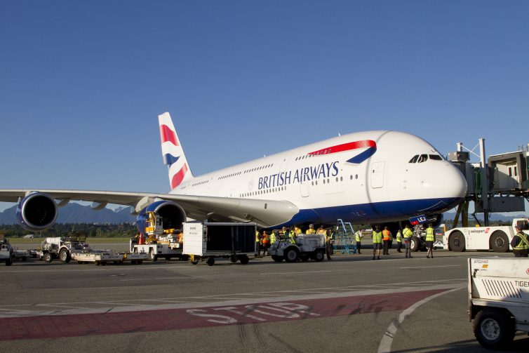 RT @AirlineReporter: The MegaJet Arrives - @Airbus A380 Service From @British_Airways Begins at @yvrairport. https:…