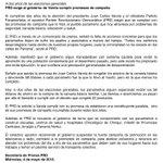 .@PRD_Panama_ exige al gobierno de @JC_Varela cumplir promesas de campaña, a dos años de las elecciones generales. https://t.co/5yxSsEdNSH