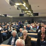 A packed crowd awaiting the 2016 Fairbrother Lecture - our live-stream on #Periscope will be available in a moment. https://t.co/xPXmhMAvMW