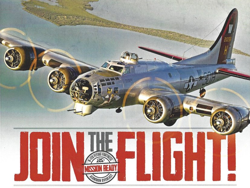 B-17s WWII Aircraft event at Mather Airport on Memorial Weekend, 4 tickets & more info: