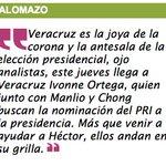 #Palomazo #Veracruz es la joya de la corona y la antesala de la elección presidencial, ojo ... #Veracruz @PRIVer_ https://t.co/XkvuOIj6lB
