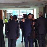 Presidente República Dr. Juan Manuel Santos ya está en USTA Tunja @infopresidencia @BoyacaEsNoticia @MinjusticiaCo https://t.co/vRTG9whL44