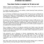 #Manif16Mai > CP #CGT #transports les routiers entrent dans la danse #LoiTravail #Greve #Politique #NuitDebout https://t.co/LChwlWTZdU