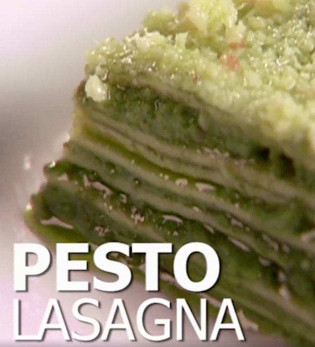 Lasagne with a twist - Pesto Lasagne https://t.co/uk6IsgWzRU / https://t.co/MnIZ8SSbqJ