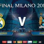 ¡Rueda el balón! Ya juegan Real Madrid y Manchester City en el Estadio Santiago Bernabeu. #UCL https://t.co/BuuKQH5URR