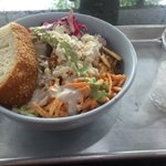 I like the option of eating from a ceramic bowl at @SKWRkabobline. Less waste. #DC https://t.co/84zyAV6spK
