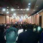 Avanza a esta hora la posesión de @SJorgeLondono por parte del presidente @JuanManSantos en la U. Santo Tomás Tunja https://t.co/kiLjud9kIF