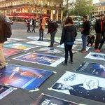 Antipub debout a pris place à #République! #NuitDebout https://t.co/4JzMWOJ6Cj