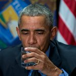 #Obama drinks #Flint water, declares it safe despite groups claim https://t.co/fNOslBdh9G #FlintWaterCrisis https://t.co/fQC2CP5IBK