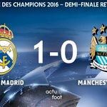🕘 TERMINE !  Real Madrid  1-0  Man. City   Le Real Madrid rejoint lAtlético en finale de la Ligue des Champions ! https://t.co/AOBqtLuFJm