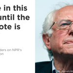 Staying in the race is good for the Democratic party @BernieSanders tells @NPRinskeep https://t.co/Nwe25NkFd1 https://t.co/WFsQbdOshK