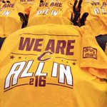 Another golden opportunity tonight in #TheLand. ???? Get ready to put on your @Drug_Mart #ALLin216 tees for GAME 2. https://t.co/HJkL744EoP