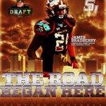 The Road Began Here  James Bradberry, @SamfordFootball  🔥🔥🔥 #SamfordStrong https://t.co/B3vpuqXzSe