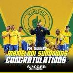 Congratulations to @Masandawana for winning the 2015/2016 Absa Premiership title! https://t.co/YFkUQgMNqh