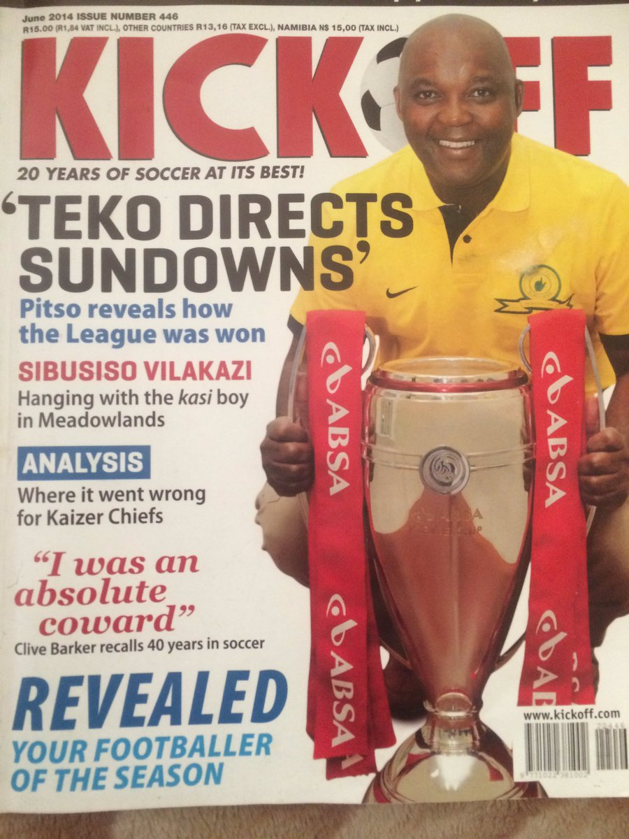 Two years ago Pitso became the first black local coach to win this trophy. He's done it again. One of the very best! https://t.co/0tjR0OONXb