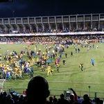 Pitch invasion by @Masandawana fans #AbsaPrem https://t.co/AlRdPvzh90