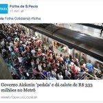 Alckmin não pagou a mensalidade da Folha esse mês https://t.co/juCkEB5TgF