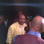 Our president, Patrice Motsepe chatting to the media backstage. #Sundowns https://t.co/OrNIigeFnn