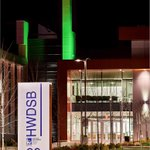 Thank you @HWDSB for shining green in support of #MHW2016 #GETLOUD https://t.co/5TPZ8JF4oz
