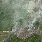 Wildfire in Fort McMurray https://t.co/2UTFj6fjqY #NASA https://t.co/1h3YL60tWU