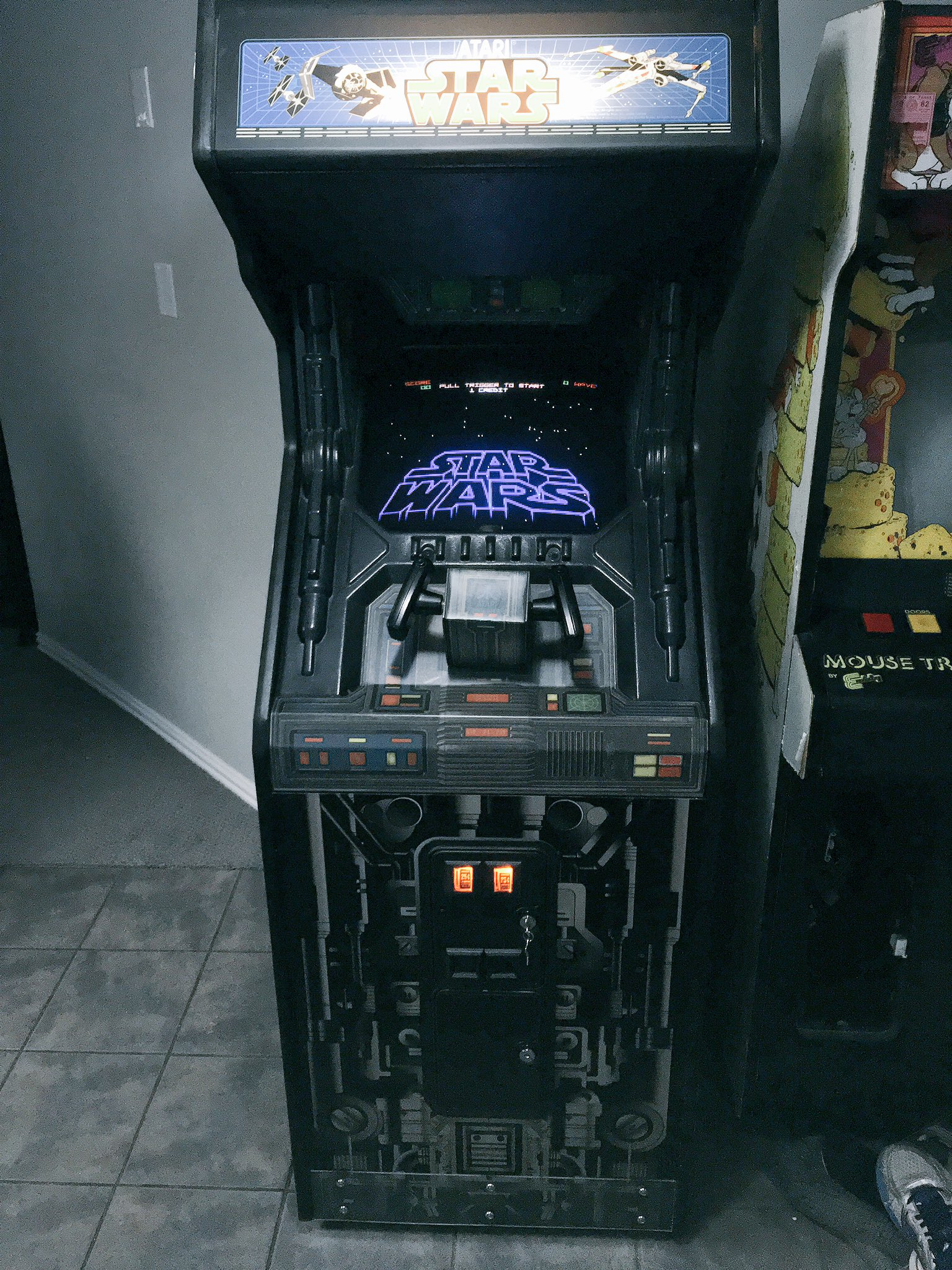 Star Wars Cabinet Atari Star Wars Cabinet Rear Wheels What Do You Know About Them