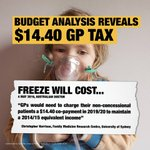Angry about the $7 GP tax? Malcolm Turnbull wants you to pay $14. #SaveMedicare https://t.co/BOFdqYW43F