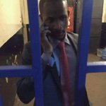 Babu Owino spending the night at Kilimani Police Station for slapping Mike Jacobs. By 8am tuko Kilimani https://t.co/ejyog40NgU