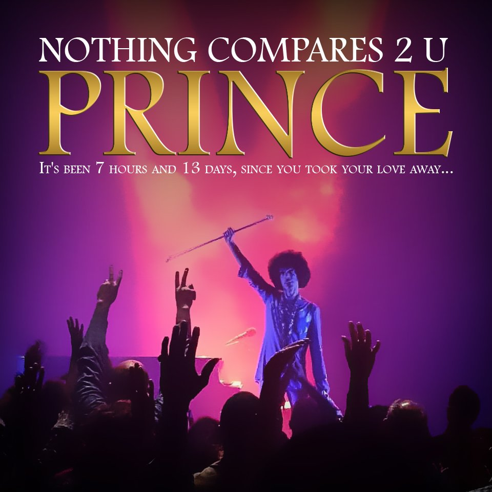 #Prince Nothing Compares 2 U No matter what. #purplearmy #nothingcompares2Prince https://t.co/YE8N3F30Bl