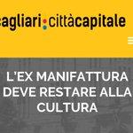 Lex Manifattura deve restare alla #cultura #Cagliari #CagliariCittaCapitale #LobinaSindaco https://t.co/nnpfpWL1qe https://t.co/i4SMN2FSNF