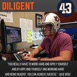 DILIGENT (adj): Showing steady, earnest and energetic effort #43Lessons https://t.co/JhPbmvrsHr