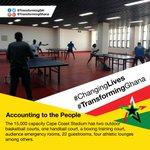 New multi-sports Cape Coast Stadium brings #ChangingLives, healthy lifestyle to Ghanaians #TransformingGhana #Ghana https://t.co/8ec2mFvfrP