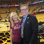 Were #ALLin216! Lets go @cavs Hey! Even the glasses make a come back! @CavsFredMcLeod @cleveland19news https://t.co/Fut33Dj3nn