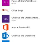 Shot of my actual SharePoint App today. Office Graph figured out what was most important #FutureofSharePoint https://t.co/IVnI2IQVf8