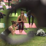 Yoga on Parliament Hill is back. A look at todays session. #Ottawa #ottnews https://t.co/bqQUvWsXGK