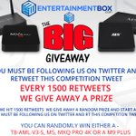 The EBox Big Android TV Box Giveaway is back! RT & follow to be in with a chance of winning. Good luck! #competition https://t.co/KgwbEhn7z5
