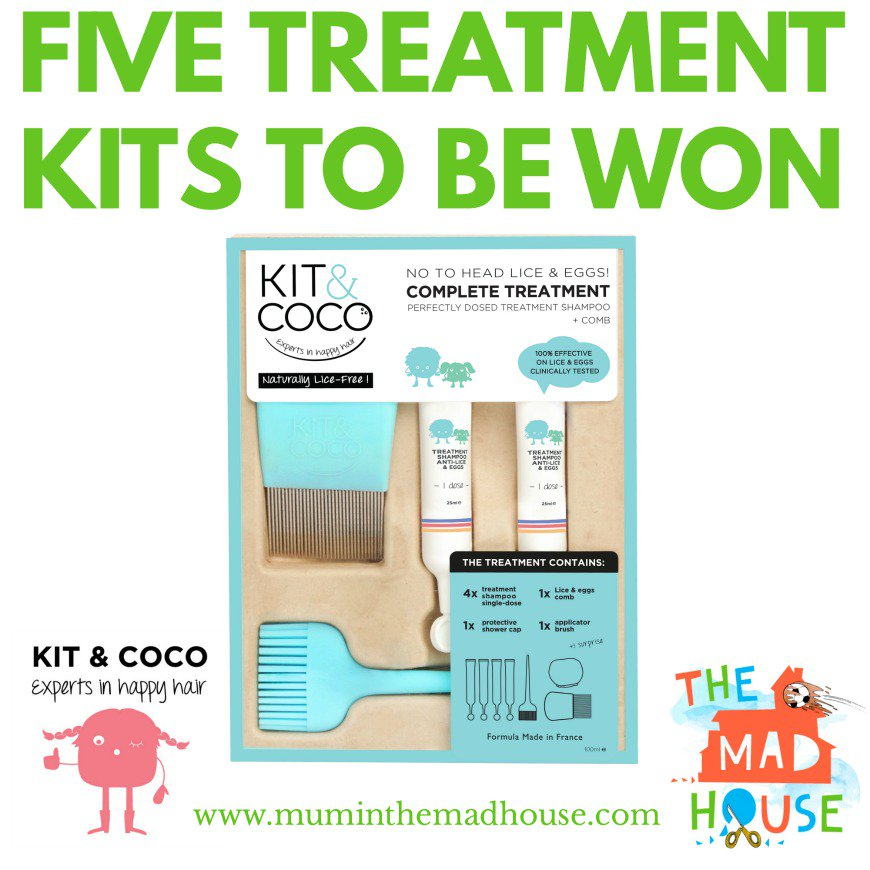 #Win fab paraben free head lice treatment kits from @kitandcoco and @Mum_TheMadHouse https://t.co/VZxQ7pWzAG https://t.co/kYLFail1dA