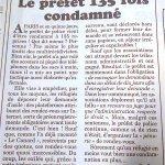 Le préfet de police de Paris, #Valls et #Hollande, condamné 135 fois pour entrave au droit dasile https://t.co/ALwn922tGx cc #NuitDebout