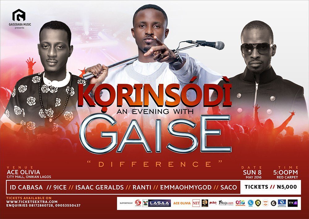 Gaise is Ready... Are you Ready #korinsodi??? @gaisebaba with @idcabasa_coded @Iamancestor and others ONE Night❗️